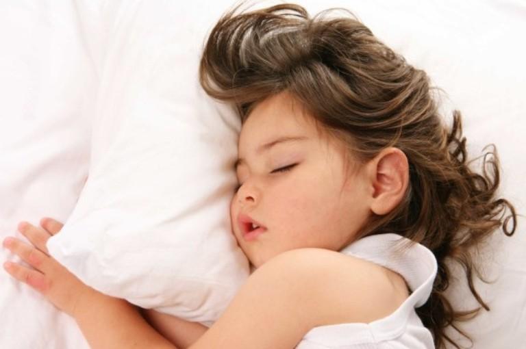 Como seu filho dorme?